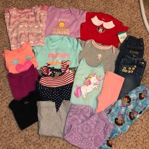 18 months infant clothing lot
